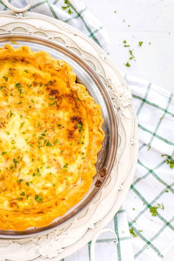 Classic Quiche Lorraine recipe