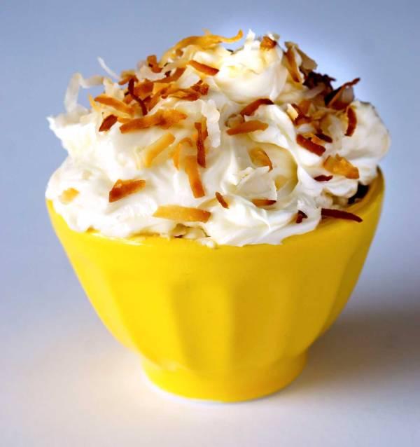 The Best Coconut Swiss Meringue Buttercream