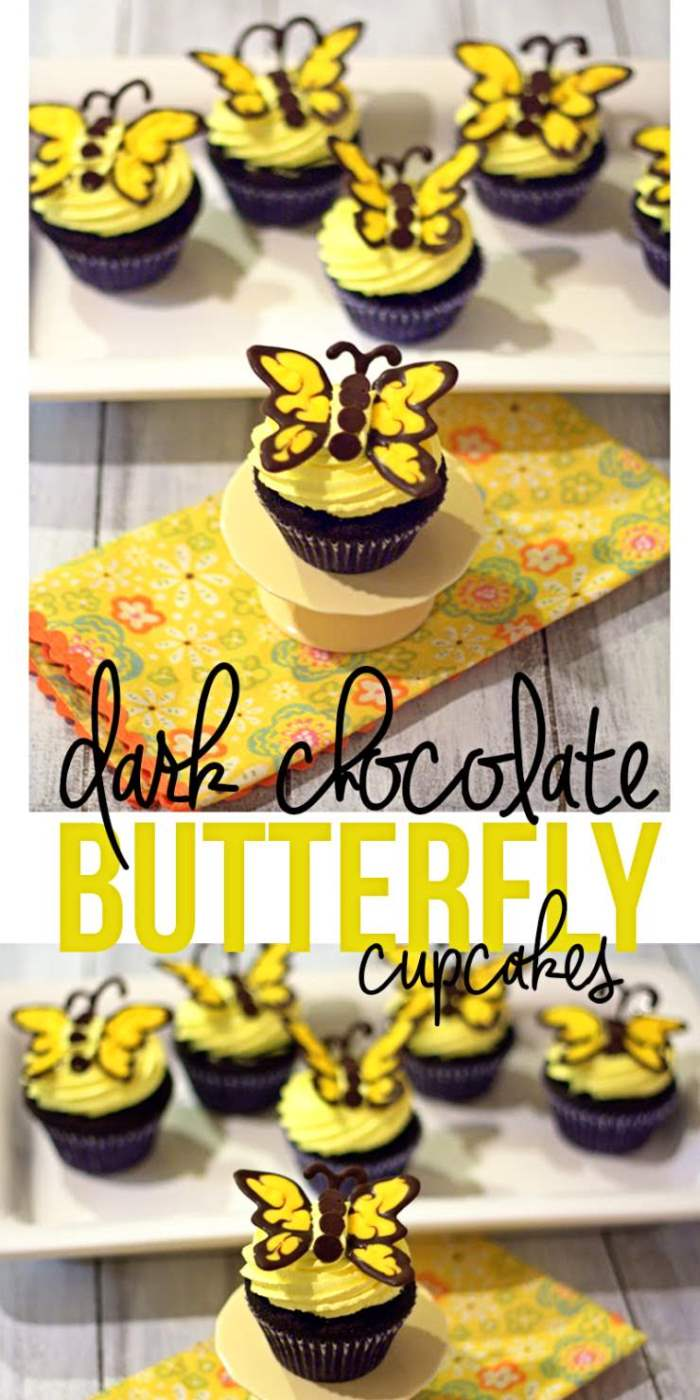 These Butterfly cupcakes are perfect for a special party or birthday.