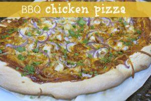 California Pizza Kitchen BBQ Chicken Pizza: copycat recipe