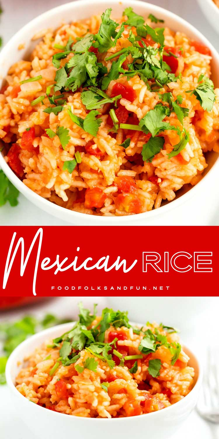 This quick and easy Mexican Rice recipe is the perfect compliment to any Mexican meal! It's restaurant-worthy and it will quickly become a family favorite! 