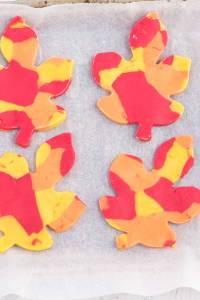 How to Make Leaf Cookies - Step 7