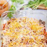 How to Make Mexican Lasagna