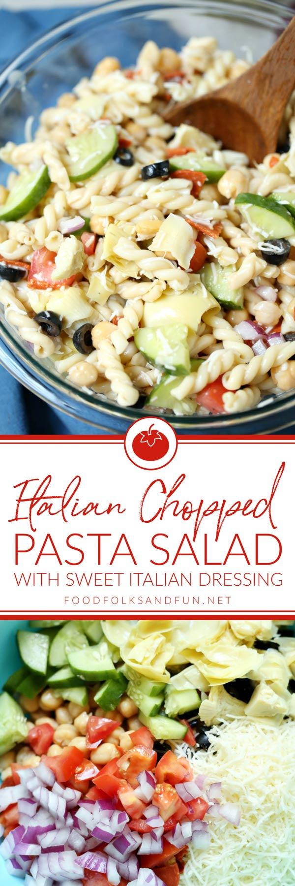 The best ever Italian Pasta Salad recipe!