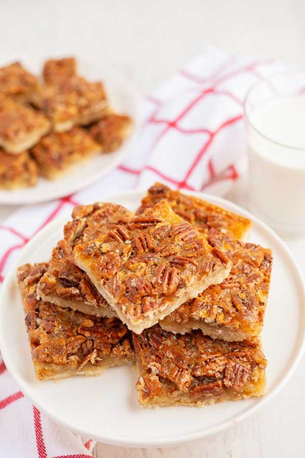 Pecan Pie Bars Thanksgiving Dessert