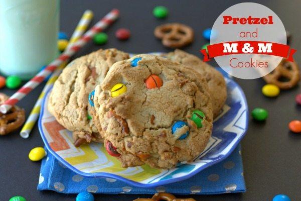 Browned_Butter_M&M_Pretzel_Cookies_#BakingIdeas_#shop