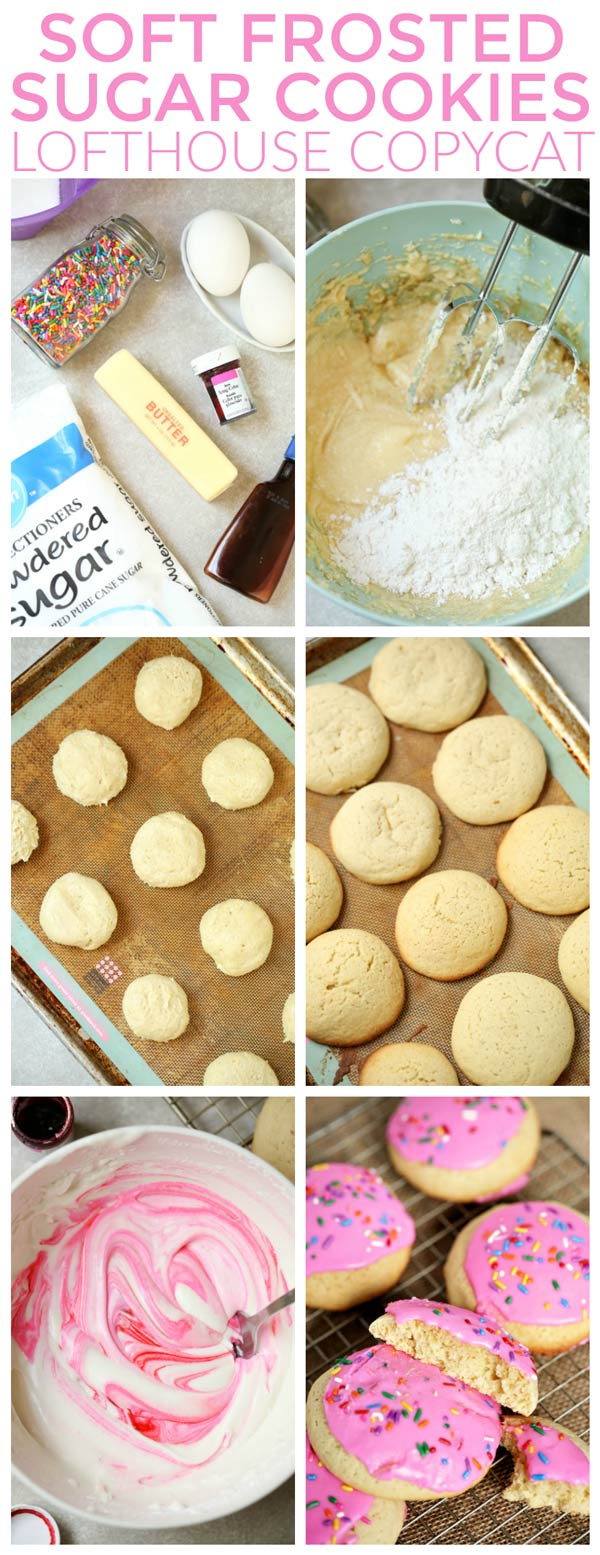 How do you Make Copycat Lofthouse Cookies - Soft Frosted Sugar Cookies