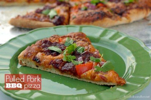 Pulled Pork BBQ Pizza