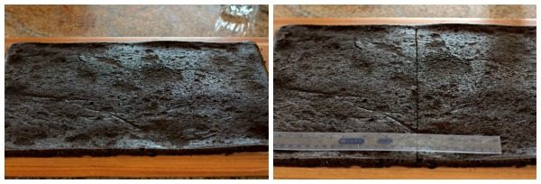 Cut the sandwich bases.
