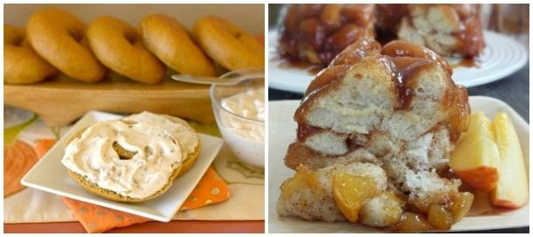 A collage of bread breakfast recipes