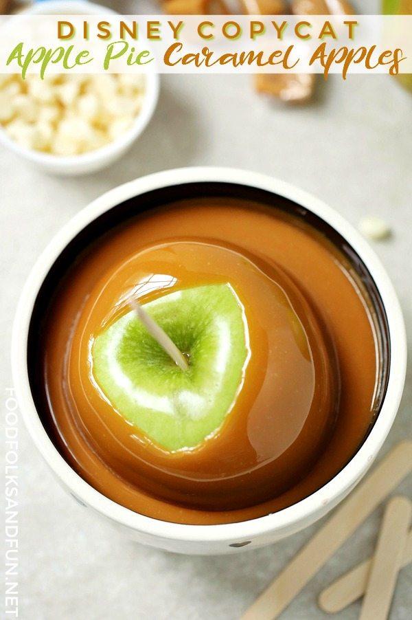 Dipping Caramel Apples