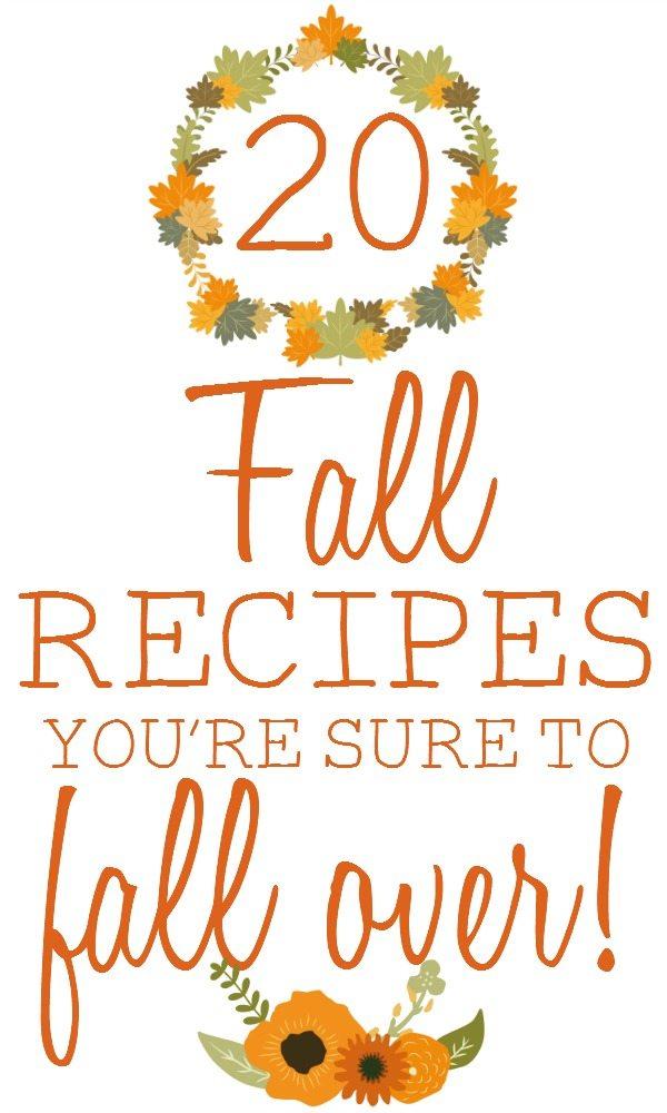 fall recipes image