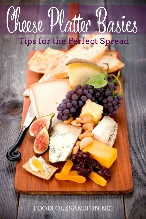 See how to make a delicious spread of fine imported cheese served with fruit, nuts, bread and crackers for Thanksgiving in this Cheese Platter Basics: Tips for the Perfect Spread post.