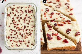 Cranberry Bliss Bars - Starbucks Copy Cat Recipe 2