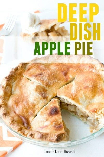 Deep Dish Apple Pie 1