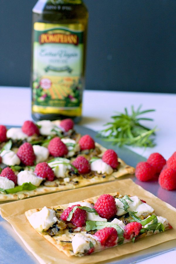 Raspberry and Ricotta Flatbread 2