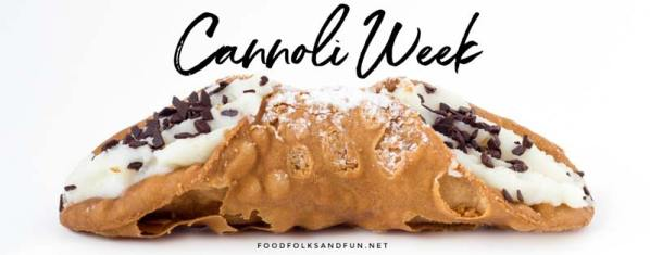 A week of cannoli recipes!