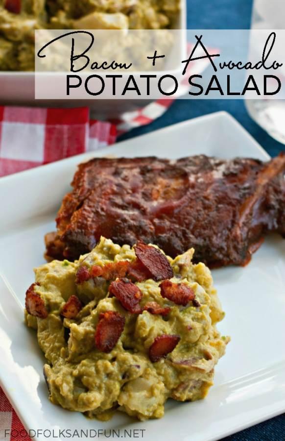 Bacon Avocado Potato Salad Recipe 1