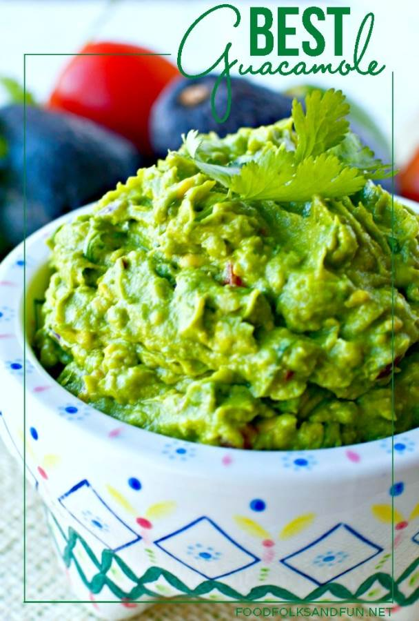 Best Guacamole Recipe EVER