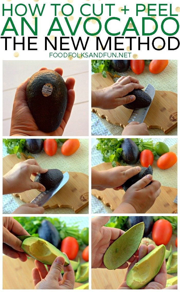 Come find out how to peel an avocado. In this tutorial, you'll discover the EASIEST and safest method! via @foodfolksandfun