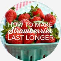 Check out my tested method for keeping strawberries for longer!