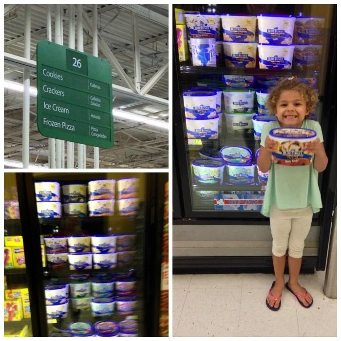 Can you tell she's excited about her selection?