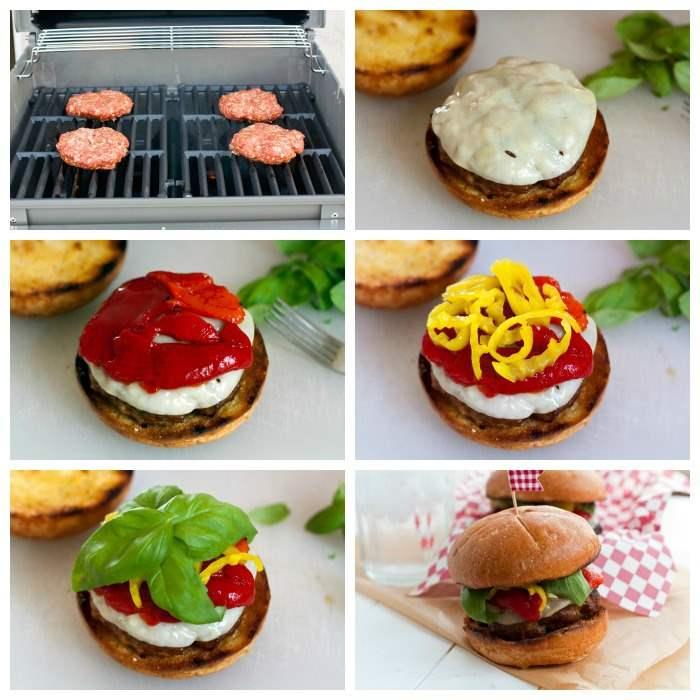 How to make Italian Sausage Burger