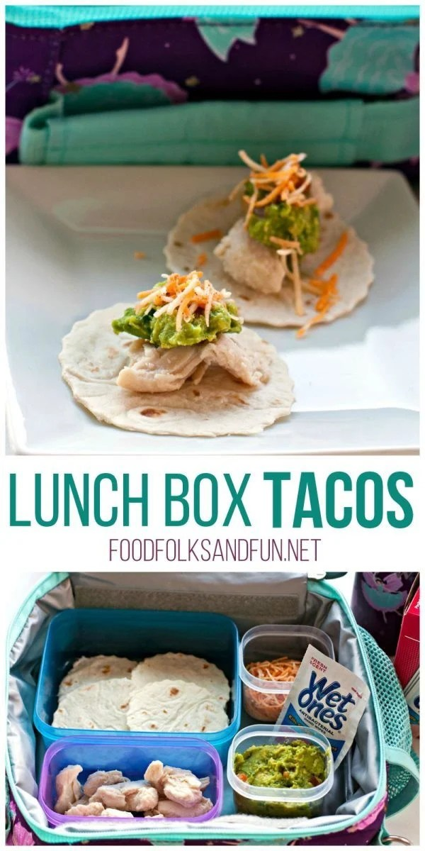 Lunch Box Tacos – Your kids will love these mini tacos. They're easy to prepare, and they make them themselves! #WishIHadAWetOnes