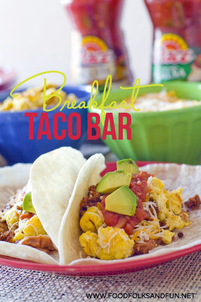 Close up picture of breakfast tacos.