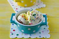 This Funfetti Birthday Cake Ice Cream is an easy, no churn recipe that anyone can make at home. Make it for birthdays or just because!