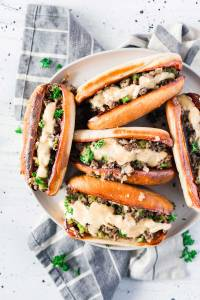 20-Minute Philly Cheesesteak Sloppy Joes