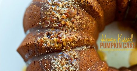 Honey Kissed Pound Cake FB