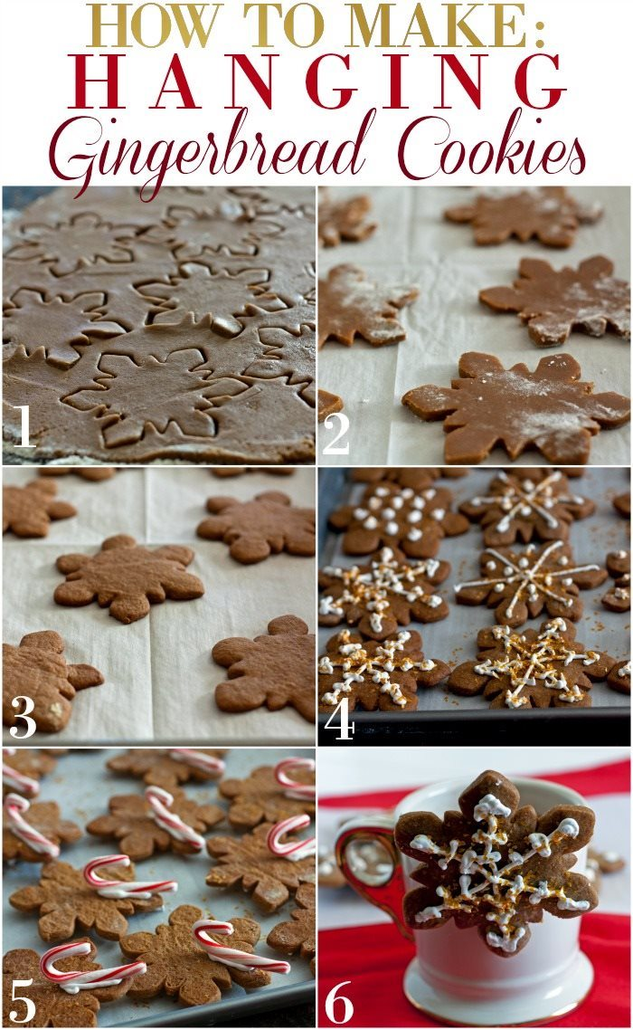 How to Make Hanging Gingerbread Cookies
