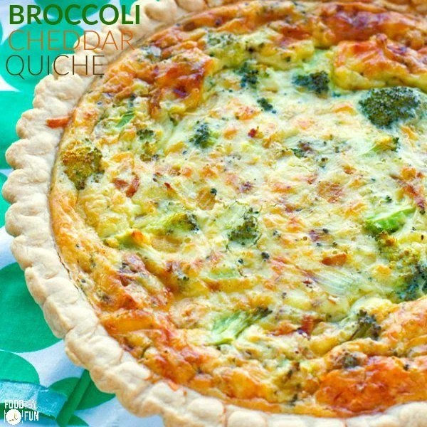Close up picture of quiche.