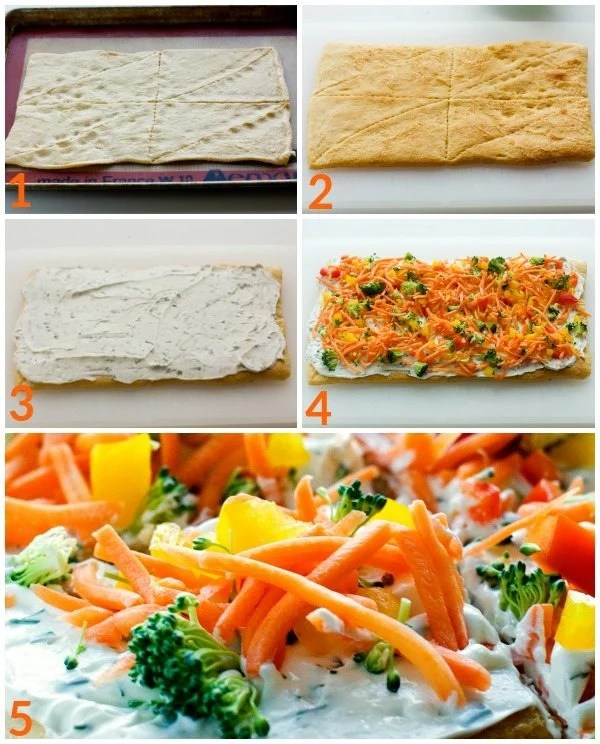 How to make Crescent Roll Pizza Appetizer