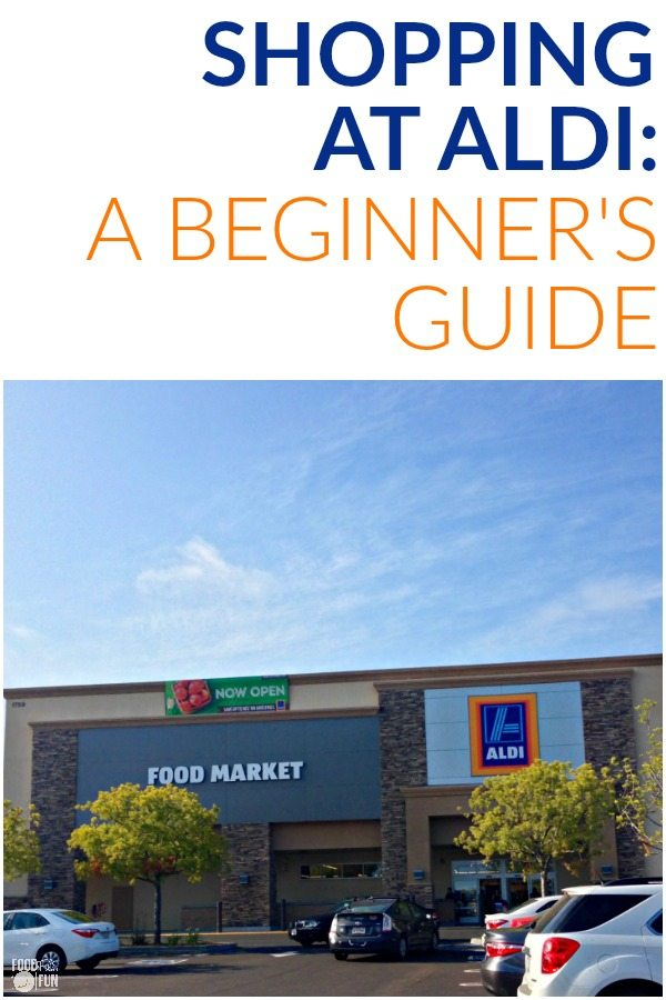Here you'll find everything you need for navigating your first trip to ALDI in this Shopping at ALDI: a Beginner's Guide post!