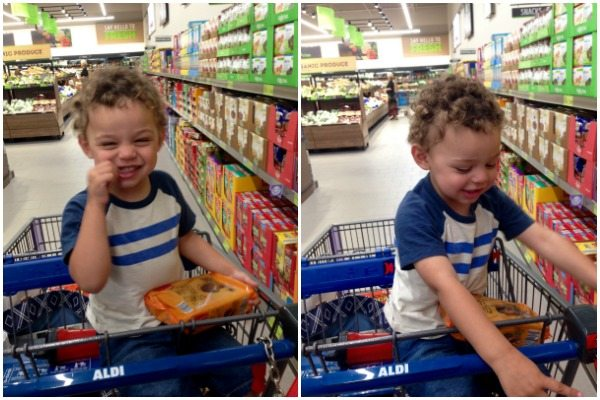 Shopping with Kids at ALDI