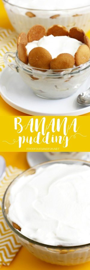 This Banana pudding is full of banana flavor just like it should be! Come find out my secret to a fruity, homemade banana pudding that will transcend you back to your childhood!