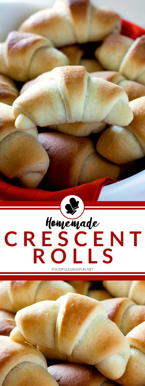 These homemade Crescent Rolls are always the star of any holiday feast. They're tender, buttery, and extraordinary!