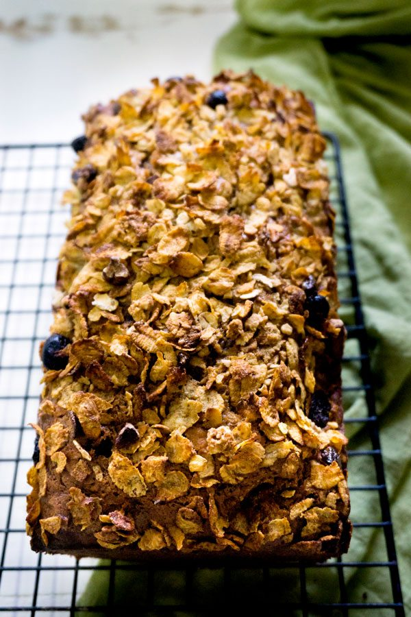 This Date Nut Bread Recipe is delicious, hearty, and so tasty. It has a crunchy topping, and it's one of my favorite ways to start the day!