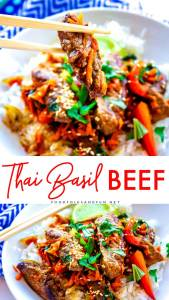 Easy Thai Basil Beef recipe