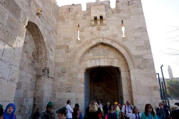 Old City, Jerusalem Gates. Jerusalem, Israel