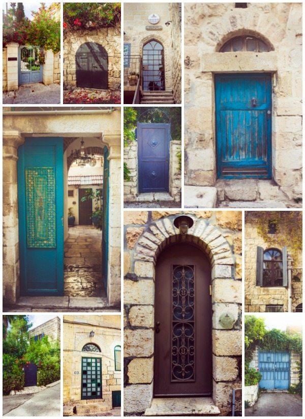 Doors of Ein Karem