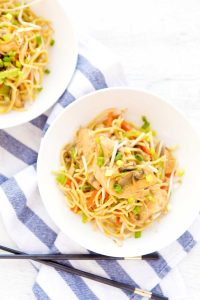 Better than take out Chicken Chow Mein recipe.