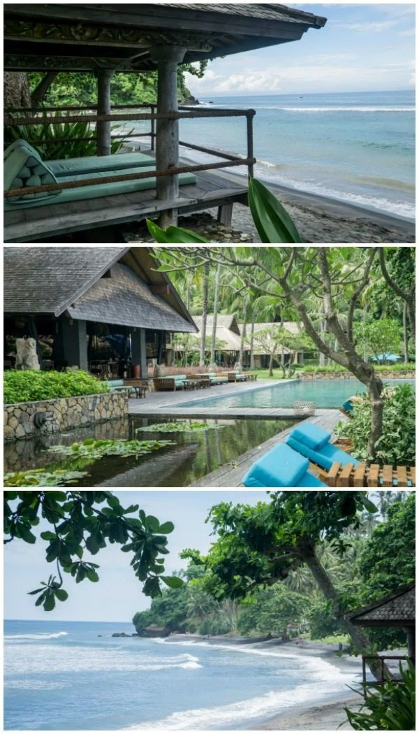 Where to stay in Lombok - Jeeva Klui Pool and Beach Area