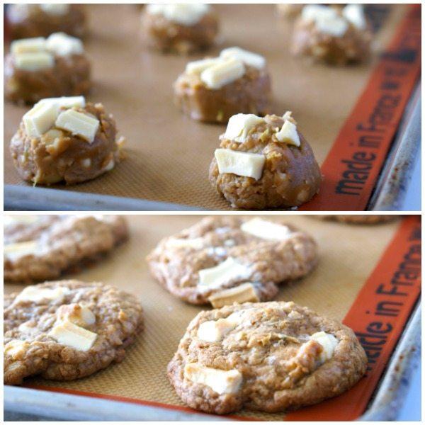 Making Paradise White Chocolate Cookies