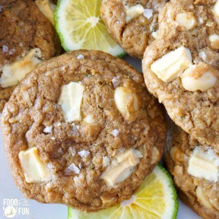 Paradise White Chocolate Cookies Recipe