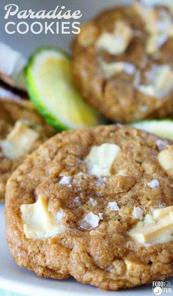 Paradise White Chocolate Macadamia Nut Cookies