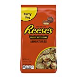 A bag of Reese\'s peanut butter cups