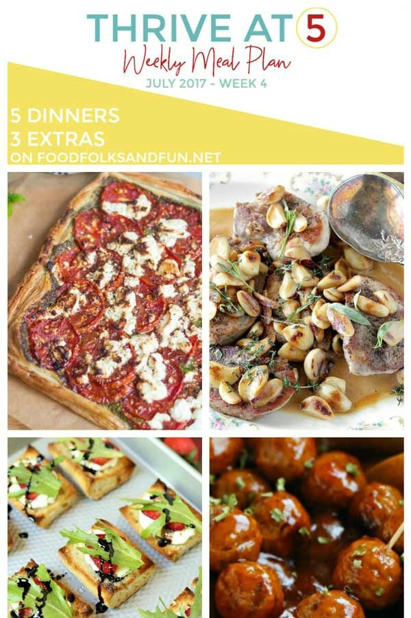 A collage of dinner recipes with text overlay for Pinterest